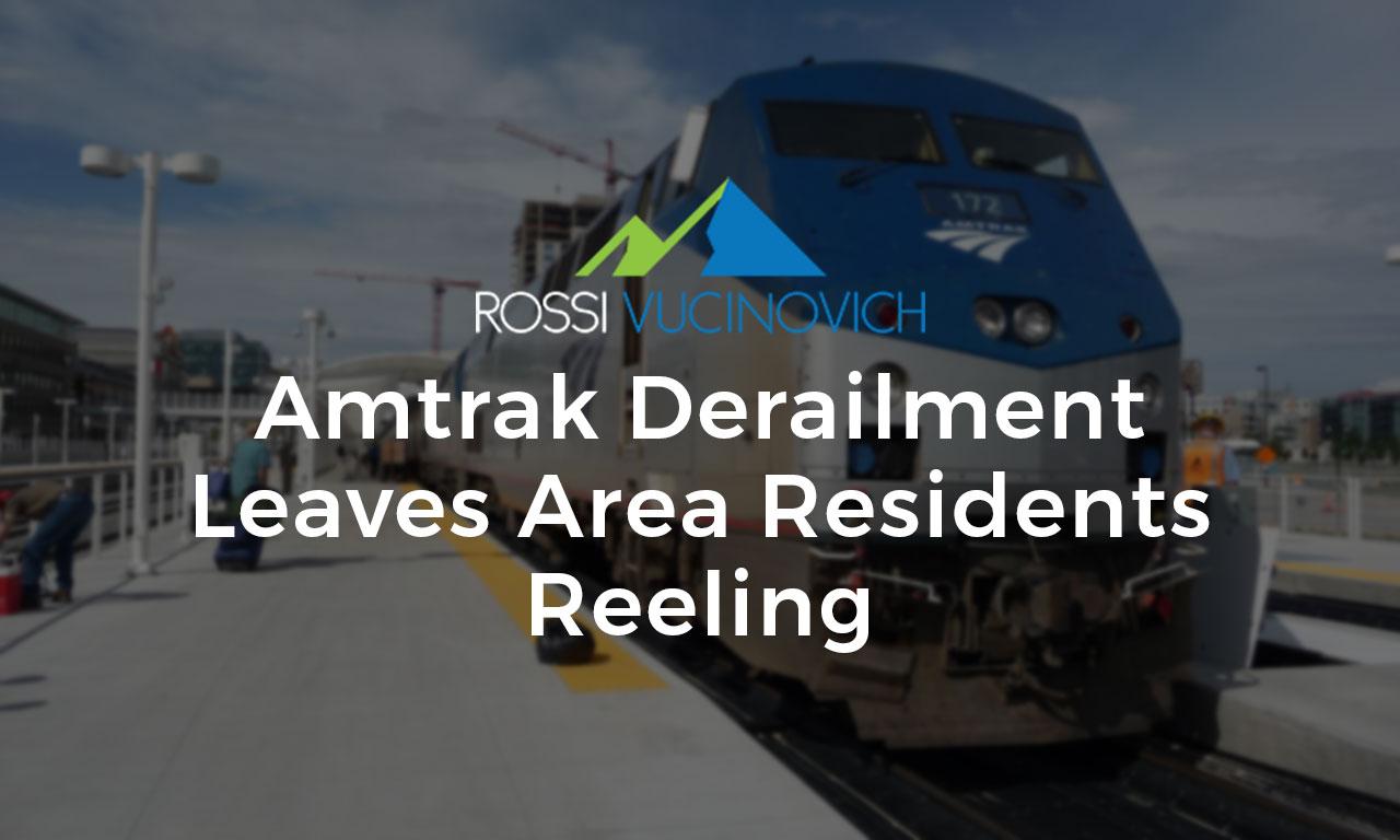 Amtrak Derailment Leaves Area Residents Reeling