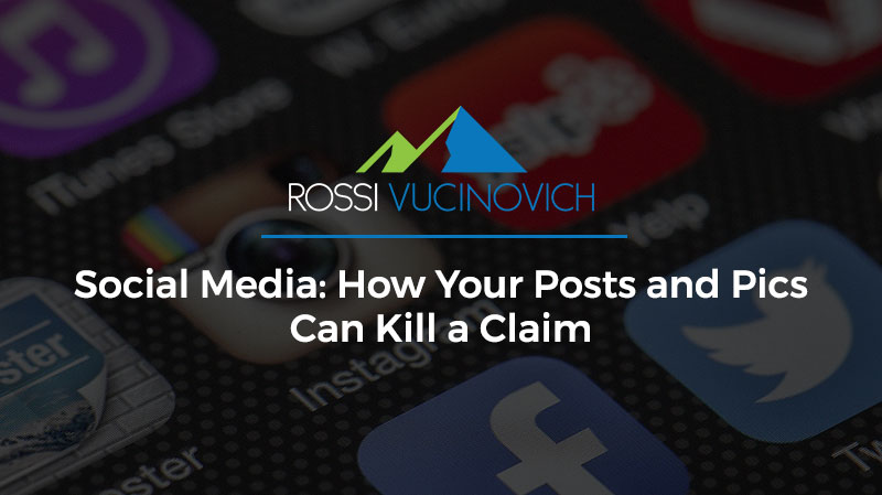 Social Media: How Your Posts and Pics Can Kill a Claim