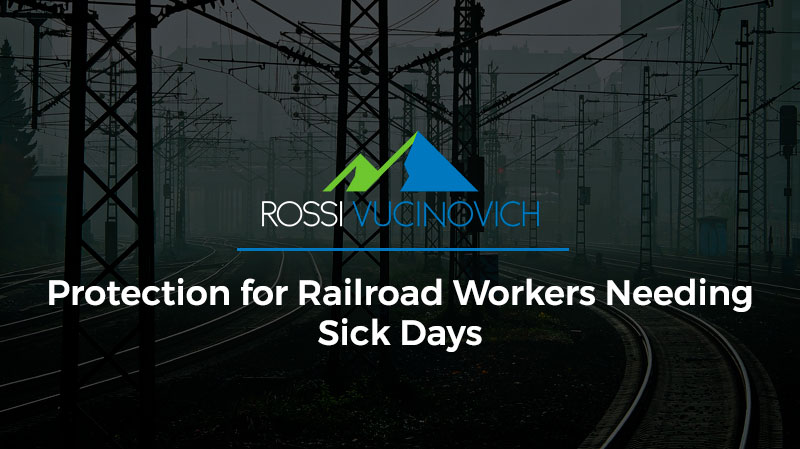 Protection for Railroad Workers Needing Sick Days